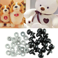 100pcs 6-20mm Black Plastic Safety Eyes For Teddy Bear Dolls Toy Animal Felting