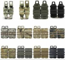Airsoft Tactical Mag Pouch Magazine Pouch Holster Molle AK AUG MP5/MP6/M4/M14