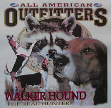 WALKER HOUND THE REAL HUNTER .... COON HUNTING COONDOGS SHIRT #524