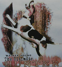 WALKER HOUND THE ULTIMATE HUNTER .... COON HUNTING COONDOGS SHIRT #521
