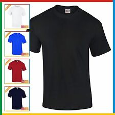 MENS PLAIN T-SHIRT GILDAN Heavy Cotton T Shirt: S M XL XXL 3XL 4XL 5XL BULK BUY