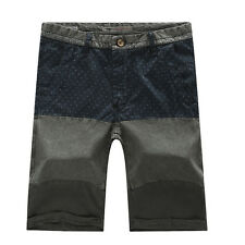 Fashion Summer Men's Casual Pants Relaxed Slim Fit Cargo Shorts #5966