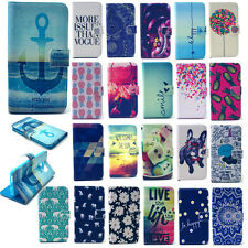 Magnetic Flip Folio Case PU Leather Stand Cover Skin for Apple iPhone Cell Phone