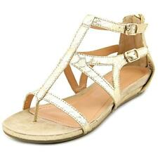 Kenneth Cole Reaction Lost Time Women  Open Toe Synthetic Gold Sandals