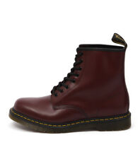New Dr. Martens Men's 1460 8 Eye Boot Smooth Cherry Red Men Shoes Casuals Boots