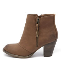 New Therapy Fidel Tan Women Shoes Casuals Boots Ankle Boots