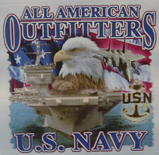 ALL AMERICAN OUTFITTERS U.S. NAVY MILITARY USN SHIRT #1099