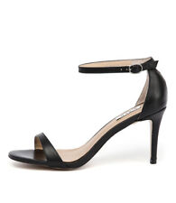 New Siren Farrah Si Black Womens Shoes Dress Sandals Heeled