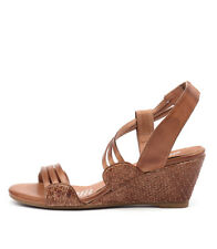 New Gamins Cruise Tan Women Shoes Casuals Sandals Wedges