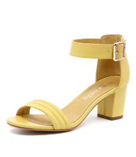 New I Love Billy Granted Yellow Women Shoes Casuals Sandals Heels
