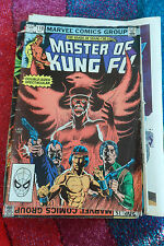 Master of Kung Fu #118 - Marvel Comics - November 1982 - 1st Print