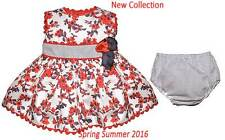 Dress baby girl sleeveless red Dolce Petit -  Dolce Petit -  Spring - Summer