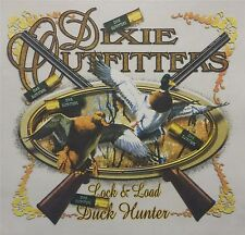 DIXIE OUTFITTERS DUCK HUNTING LOCK & LOAD DUCK HUNTER SHIRT #4613