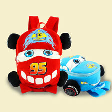 Boys Kid Toddler Pixar Cars Mcqueen Schoolbag Backpack Children BLUE School Bag