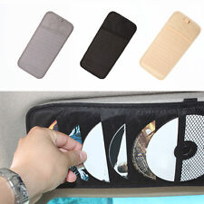 CD/DVD Carry Case Disc Storage Holder CD Sleeves Wallet Ideal In Car Van HOT