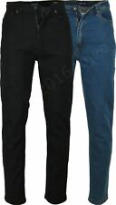 NEW MENS ROCKFORD CARLOS JEANS - Comfort Fit Stretch Denim Jeans Trousers Pants