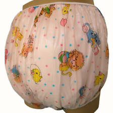 Baby Plastic Pants, Adult Sizes Pink Carousel Bedwetter