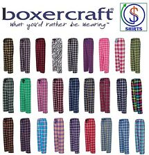 Boxercraft - Fashion Flannel Pajama Pants With Pockets, Men or Women S-2XL (F20)