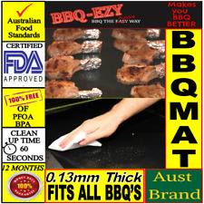 BBQ MAT Nonstick Teflon BBQ Sheet(0.13mm)BBQ Reusable Liner +Money Back Gurantee