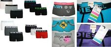 MENS DIESEL or ARMANI BOXER SHORTS- Slight 2nds Mixed 3-Pack or Singles Trunks P
