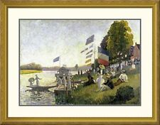 Global Gallery 'Regatta' by Camille Pissarro Framed Painting Print