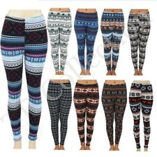 Colorful Winter Leggings Pants Jegging Stretches Printed -one size