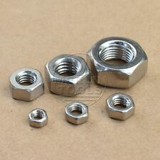 1/4-20 to 1'-8, 304 Stainless Steel Right Hand Thread Hex nut Select size
