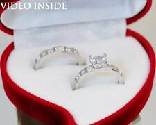 FAB16**Round Cut 2.28 CT Engagement Ring Fine Jewellery Rings Made in Italy