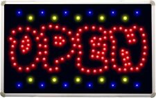 led108 OPEN Cartoon Bar Beer Led Neon Sign