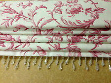 Laura Ashley ironwork scroll made to measure roman blinds