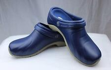 Cherokee Anywear Zone Navy Blue Clogs w/Backstrap Nurses/Chef/Doctor Shoes