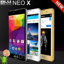 "New BLU Neo X 5.0"" HD N070U 4G H+ 4GB 5MP Android 5.1 Dual Sim Dash Unlocked"