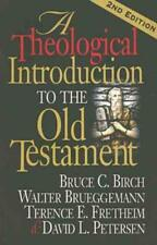 A THEOLOGICAL INTRODUCTION TO THE OLD TESTAMENT - NEW PAPERBACK BOOK