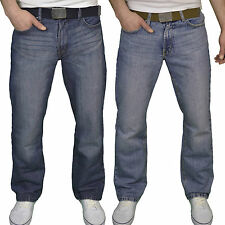 "FB Jeans Mens Designer Regular Fit Boot Cut jeans Waist Sizes 28""-48"", BNWT"