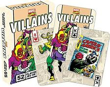 Marvel Villains Retro set of  playing cards (nm 52327)
