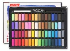 MUNGYO Soft Pastels 24 32 48 64 Vivid Colors Half Size For Artists