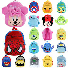 Lovely Nursery Boys Girls Kids Baby Toddler Cartoon Backpack Schoolbag Small Bag