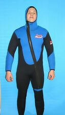 Wetsuit 7 MM size Small to 6X Plus Size 2 Piece Attached Hood Dive Scuba 8900