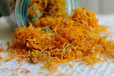 Certified Organic Calendula Officinalis Marigold Dried Flowers Herb 1/2oz-16 oz