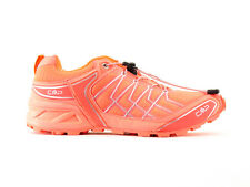 CMP Trainers Running shoes Sneaker orange neon comfortable light Mesh Patch