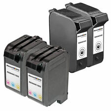 4pk BLK COLOR Ink Cartridge for HP 45/23 51645A C1823D