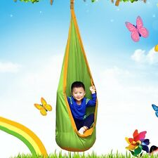 New Child Pod Swings Indoor Outdoor Hanging Seat Inflatable Chair Hammock Set