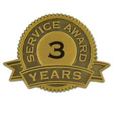 3 Years of Service Award Lapel Pin