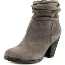 Vince Camuto Hesta Women  Round Toe Suede Gray Ankle Boot