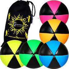 ASTRIX PRO THUD JUGGLING BALLS  - Set of  5 Juggling Balls + Flames N Games Bag