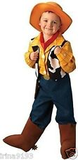Disney Toy Story Woody Cowboy Fancy Outfit Dress Costume 7 Pieces Set Size 5-6yr