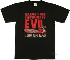 Army Of Darkness Low On Gas Licensed Adult T Shirt