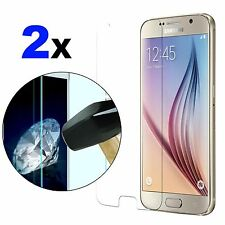 2x Tempered Glass Screen Protector Film Guard For Samsung Galaxy S6 S5 S4 S3