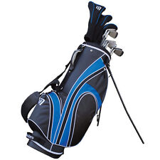 Masters MC-Z580 Mens Full Golf Set, Driver Woods Irons Putter Stand Bag