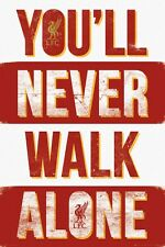 Liverpool FC You'll Never Walk Alone LFC Poster 61x91.5cm